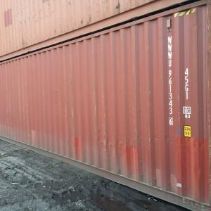 Machnik kontener morski 40HC używany