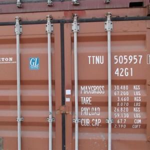 Machnik kontener morski używany